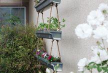 Jardinières suspendues