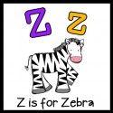 Alphabet Letter Z / Activities for alphabet letter Z for preschool students