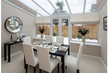 Bright Whites / White interiors can really brighten even a small space.