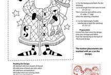 Christmas Stitchery Quilt Ideas