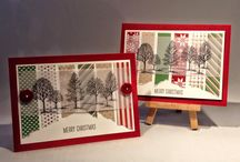Christmas crafts and Stampin' Up! Creations / Festive projects from Stampin' Up! and Elizabeth's Craft Room