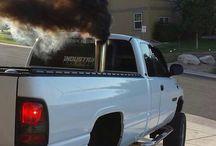 Diesel Power. / Diesel trucks.