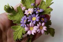 flori din piele