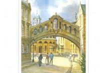 Oxford Prints / A selection of prints featuring the city and the Oxford colleges.