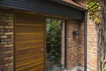 Exterior Architectural Doors / We have a wide range of architectural external doors. We will try to inspire you to create new great solution in your home!