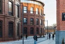 Вторая жизнь - общественные здания / Приспособление промышленных зданий под общественные центры