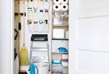 Cleaning And Linen closet