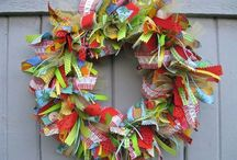 Fabric Craft - Buntings, Garlands & Wreaths