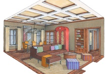 Perspective Drawing Interiors