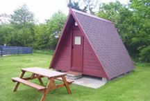 Glamping / For those who love camping but want a little added luxury, these glamping timber tents offer the perfect holiday!