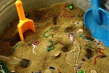Beach games for Bright Stars