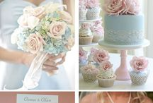 Peach and gold wedding ideas