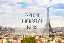 Paris / Ideas and tips Paris France