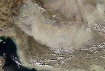 گرد و غبار جدید در خوزستان به همراه عکس از ناسا