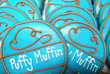 """""""C"""" is for COOKIE / Yummy cookies are fantastic for class parties, celebrations, birthdays, office parties or just pop by for a snack. www.puffymuffin.com"""