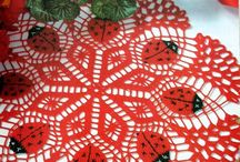 Crochet doilies. / by janushika nandasiri