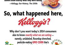GMOs, dangerous food products (need further research)
