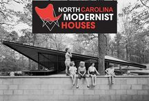 NORTH CAROLINA MODERNIST HOUSES / by North Carolina Modernist Houses