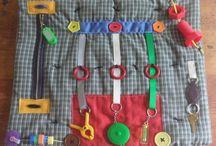 Fidget quilts for Alzeimers' patients