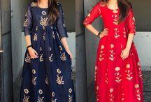 kurthi-gown
