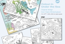 Coloring / Hours of coloring fun for the kids (and the grown ups too)