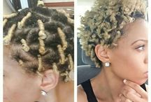 Short and Curly. / Hair. / by 2LiveKeish