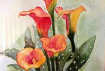 Anli's Art - Water Color / Various water color paintings
