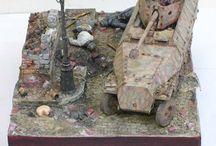 """WW2 - SDKFZ 251/22 / Sd.Kfz.251/22 (7.5 cm PaK.40 L/46 auf m.SPW) – """"Pakwagen"""" – niszczyciel czołgów z armatą 7,5 cm PaK 40."""