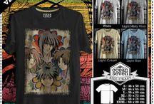 Kaos Samurai X | Samurai X T-shirt
