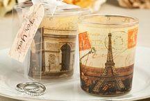 French-Parisian-Fleur De Lis Ideas / Our  Fleur de Lis Wedding Favors are the most classical gifts for a French or Parisian theme wedding.