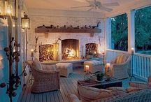 Outdoor Living Spaces / by Brittany Little