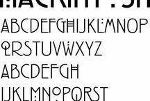 Fonts & Art F*U*N Stuff / Fonts, lettering, calligraphy, watercolor & zentangle art!!