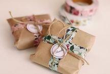 Wedding - cadeaux des invités / wedding favors / idées de cadeaux pour les invités gift ideas for invitees