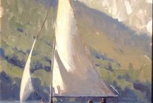 Sailing in art
