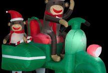 Holiday 2015 Monkey Decor