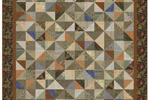 Quilt William Morris / Quilts made with William Morris Reproductions / by Barbara Brackman