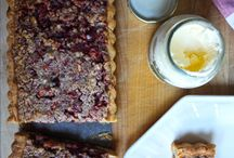 Pies, Tarts & Crisps / by Blue-Eyed Bakers -