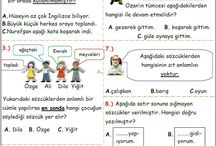 Türkçe Okul çalışması