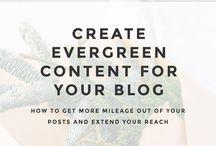 blogging/content creation