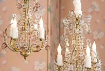 all things chandeliers / by Patty Unzen