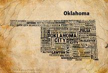 """State of Mind!""  OKLAHOMA / by Denise Jones"