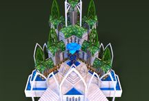 Wild Elves architecture for Driftland: The Magic Revival