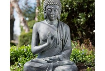 Buddha with water features
