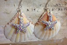 Sea shells jewelry