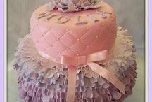 christning cakes