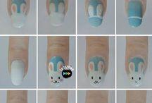 Tecniche d'arte per unghie corte
