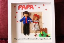 Marcos personalizados / Marcos con muñecas personalizadas para momentos especiales / Frames with custom dolls for special moments