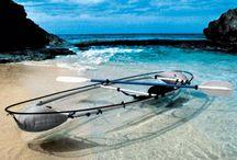 Canoa trasparente