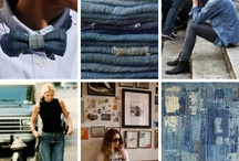 My style: Denim (Vaquero) / Todo, hecho con tela vaquera: azul, gris, negro,... / by Maria Jose de Roda Lamsfus