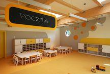 LOCOMOCO W AKCJI - Ostrów Mazowiecka / Mebelki LOCOMOCO w przedszkolu zaprojektowanym przez XYstudio.